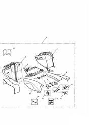 triumph motorcycle  SPRINT RS 139277 > triumph parts section Throwover Pannier Kit