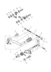 triumph motorcycle  SPRINT ST > 139276 triumph parts section Gear Change Mechanism