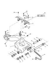 triumph motorcycle  SPRINT ST > 139276 triumph parts section Swinging Arm