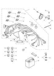 triumph motorcycle  SPRINT ST > 139276 triumph parts section Electrical Equipment   89736
