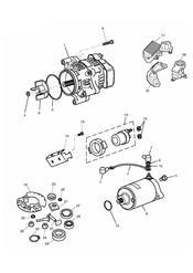 triumph motorcycle  SPRINT ST > 139276 triumph parts section AlternatorStarter