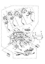 triumph motorcycle  SPRINT ST > 139276 triumph parts section Instruments