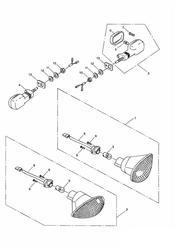 triumph motorcycle  SPRINT ST > 139276 triumph parts section Indicators