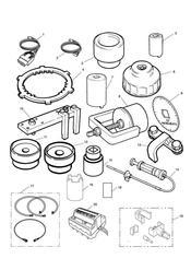 triumph motorcycle  SPRINT ST > 139276 triumph parts section Service Tools