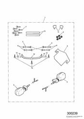 triumph motorcycle  SPRINT ST > 139276 triumph parts section Pannier Fixing Kit