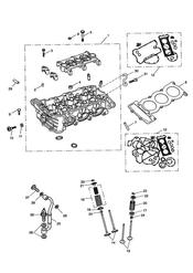 triumph motorcycle  SPRINT ST 139277 > 208166 triumph parts section Cylinder Head and Valves