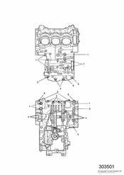 triumph motorcycle  SPRINT ST 139277 > 208166 triumph parts section Crankcase Fixings