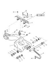 triumph motorcycle  SPRINT ST 139277 > 208166 triumph parts section Swinging Arm