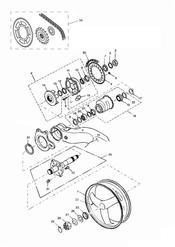 triumph motorcycle  SPRINT ST 139277 > 208166 triumph parts section Rear WheelFinal Drive