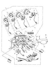 triumph motorcycle  SPRINT ST 139277 > 208166 triumph parts section Instruments