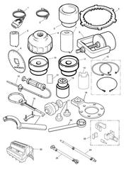 triumph motorcycle  SPRINT ST 139277 > 208166 triumph parts section Service Tools