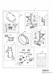 triumph motorcycle  SPRINT ST 139277 > 208166 triumph parts section 2 Box Pannier System