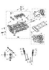 triumph motorcycle  SPRINT ST 208167 > triumph parts section Cylinder Head amp Valves