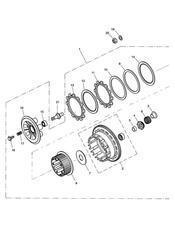 triumph motorcycle  SPRINT ST 208167 > triumph parts section Clutch