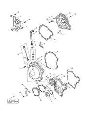 triumph motorcycle  SPRINT ST 208167 > triumph parts section Engine Covers
