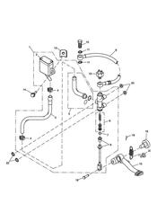 triumph motorcycle  SPRINT ST 208167 > triumph parts section Rear Brake Master Cylinder Reservoir amp Pedal