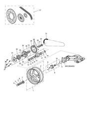 triumph motorcycle  SPRINT ST 208167 > triumph parts section Rear Wheel amp Final Drive