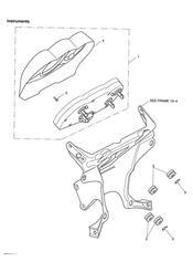 triumph motorcycle  SPRINT ST 208167 > triumph parts section Instruments
