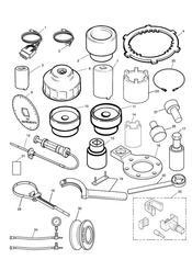 triumph motorcycle  SPRINT ST 208167 > triumph parts section Service Tools