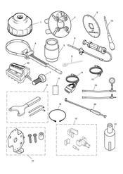 triumph motorcycle  THRUXTON 900 EFI triumph parts section Service Tools