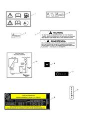triumph motorcycle  THRUXTON 900 EFI triumph parts section Warning Labels
