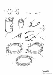 triumph motorcycle  THUNDERBIRD triumph parts section Evaporative Loss Equipment California only   161320