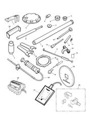triumph motorcycle  THUNDERBIRD triumph parts section Service Tools