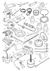 triumph motorcycle  Thunderbird Commander triumph parts section Service Tools