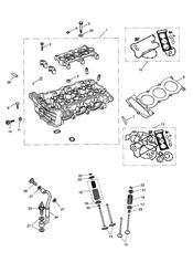 triumph motorcycle  DAYTONA 955i 132513 > triumph parts section Cylinder Head and Valves
