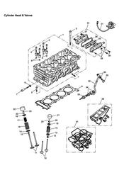 triumph motorcycle  SPEED FOUR triumph parts section Cylinder Head and Valves