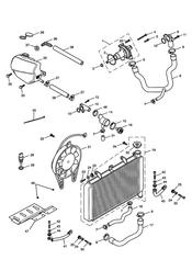 triumph motorcycle  SPEED FOUR triumph parts section Cooling System