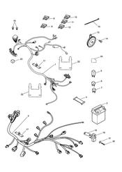triumph motorcycle  SPEED FOUR triumph parts section Electrical Equipment