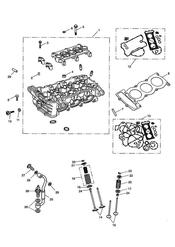 triumph motorcycle  SPEED TRIPLE 141872 > 210444 triumph parts section Cylinder Head and Valves