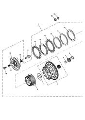 triumph motorcycle  SPEED TRIPLE 141872 > 210444 triumph parts section Clutch