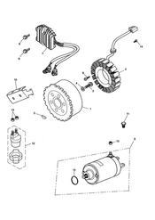 triumph motorcycle  SPEED TRIPLE 141872 > 210444 triumph parts section AlternatorStarter