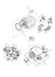 triumph motorcycle  SPEED TRIPLE (CARBS) triumph parts section AlternatorStarter