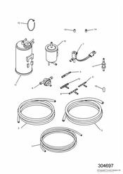 triumph motorcycle  TROPHY > 29155 triumph parts section Evaporative Loss Equipment US California models only