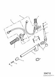 triumph motorcycle  TROPHY > 29155 triumph parts section Handlebars and Switches