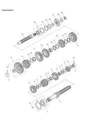 triumph motorcycle  TT600 triumph parts section Transmission