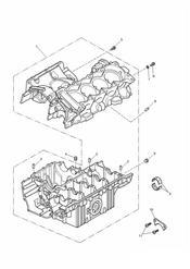 triumph motorcycle  TT600 triumph parts section Crankcase