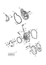 triumph motorcycle  TT600 triumph parts section Engine Covers