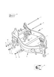 triumph motorcycle  TT600 triumph parts section Main Frame amp Fittings