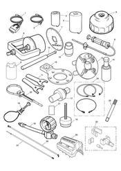 triumph motorcycle  TT600 triumph parts section Service Tools
