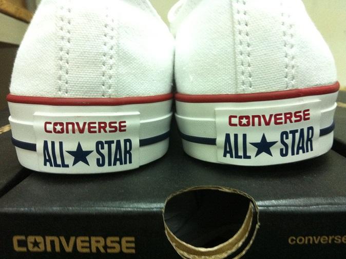 Converse Originales Vs Replica