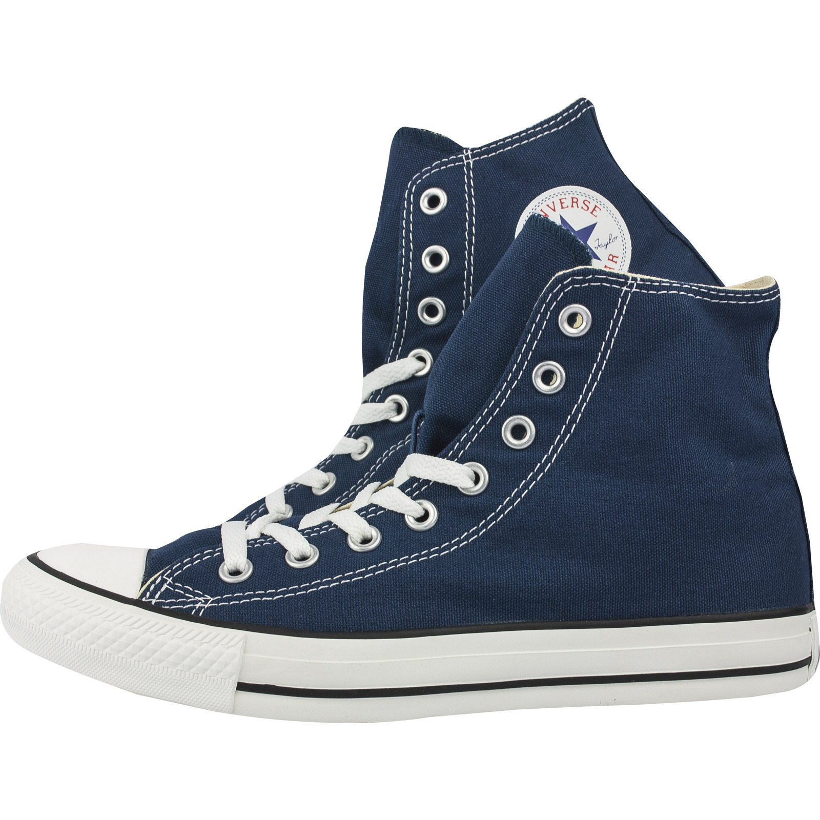 Star Navy HI High Tops Trainer Lace