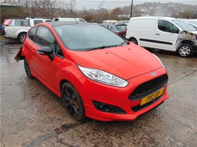 2017 FORD FIESTA ST-LINE RED EDITION