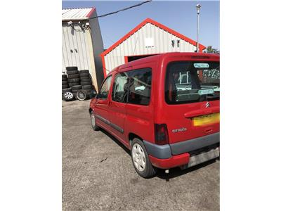 2001 CITROEN BERLINGO MULTISPACE FORTE