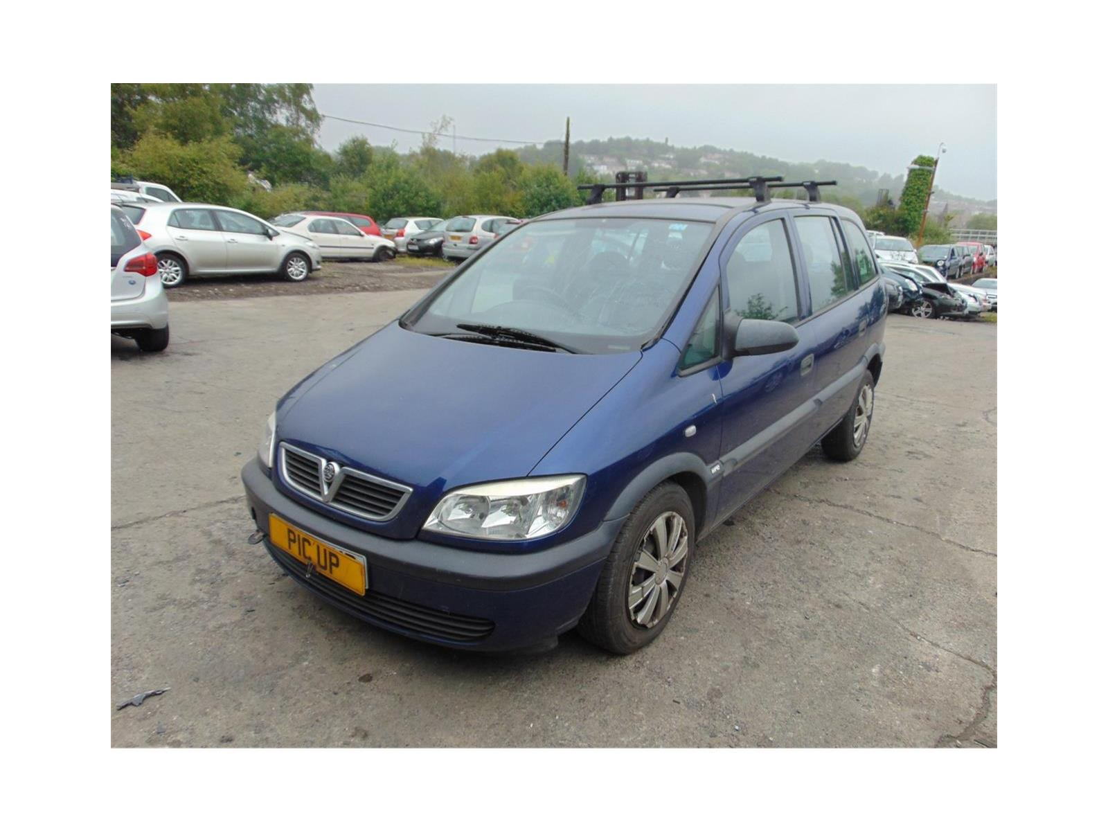 Pic Up Spares Vauxhall Zafira Ref 59787 Vehicle
