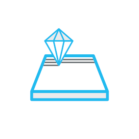 Diamond Cut Pattern