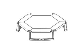 Hexagonal Trampolines